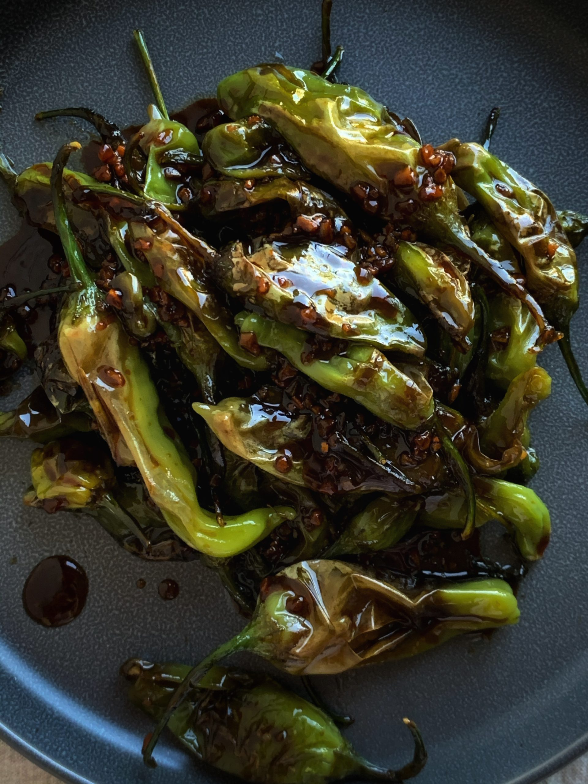 garlic soy glaze